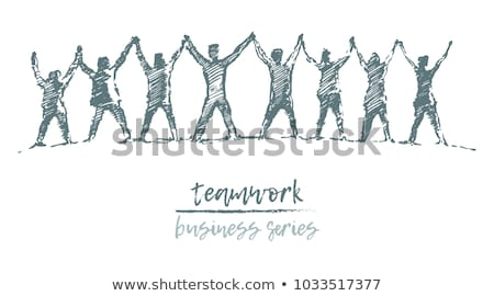 Diversity Together Chain Stock photo © Lightsource