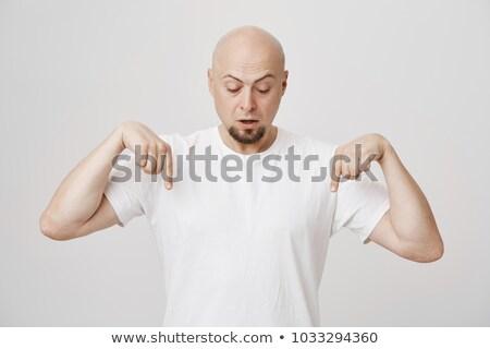 Masculino executivo olhando para baixo branco jovem negócio Foto stock © wavebreak_media