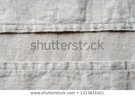 Lona materialismo ver seção branco Foto stock © albund