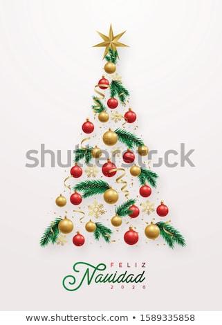 Vakantie banner silhouet symbool voedsel stad Stockfoto © doomko