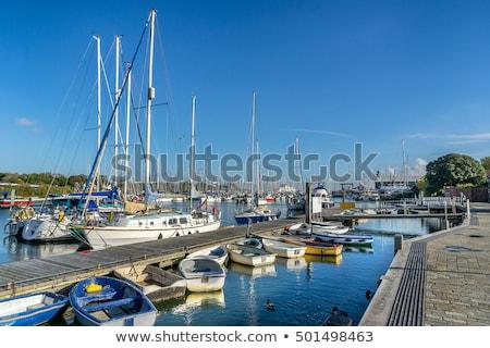The Quay in Lymington, UK stock photo © smartin69