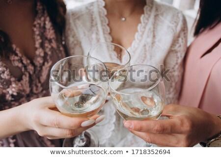 képzés · fehér · jelző · kéz · ír · átlátszó - stock fotó © traimak