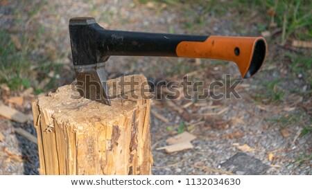 シャープ 実例 木材 デザイン 戦争 だけ ストックフォト © colematt