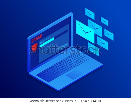 Email protection and secure communication on internet  Stock photo © cifotart