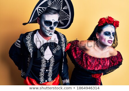young couple suffering from backache stock photo © andreypopov