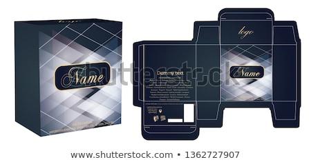 Parfüm grafik tasarım şablon vektör yalıtılmış örnek Stok fotoğraf © haris99