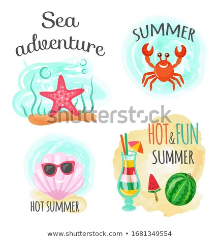 Sea Adventure and Hot Summer, Underwater Animals Stock photo © robuart