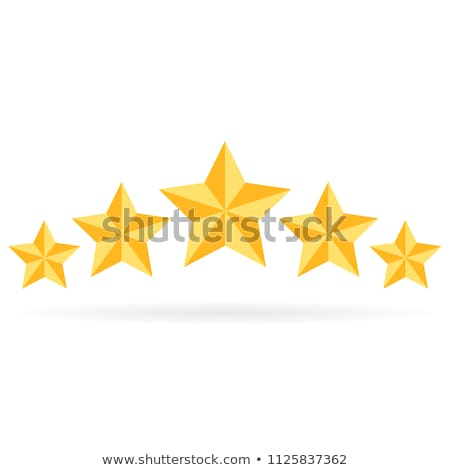 star on white background. Isolated 3D illustration Stock photo © ISerg