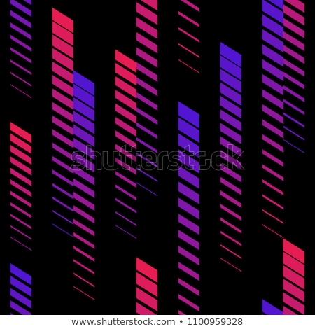 Sem costura gradiente meio-tom preto rosa linear Foto stock © ExpressVectors