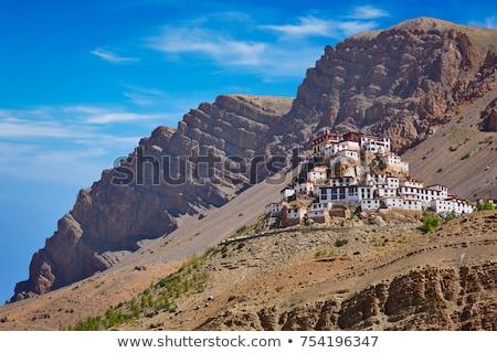 Mosteiro vale Índia vintage retro Foto stock © dmitry_rukhlenko