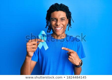 Câncer próstata preto masculino jovem feliz Foto stock © Kakigori