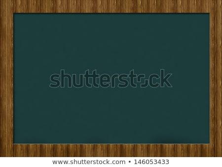зеленый доске древесины текста зачисление прибыль на акцию Сток-фото © limbi007