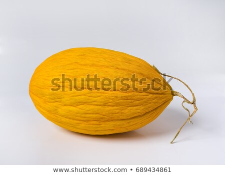 Fatia maduro amarelo melão isolado Foto stock © boroda