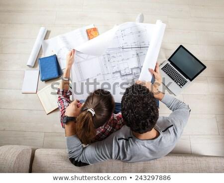 Architect couple Stock photo © photography33