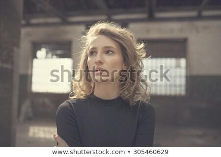 Donna bella maturo Foto d'archivio © lisafx