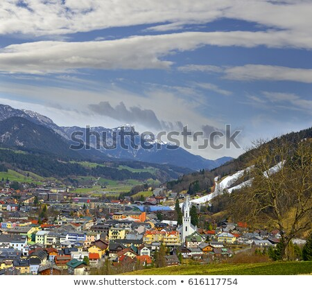 Schladming under Alp Stock photo © pavelmidi