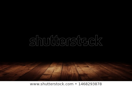 Grungy Dark Wood Interior Stock photo © frannyanne