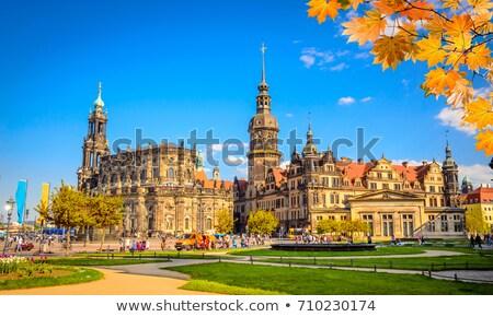 The Castle of Dresden Stock photo © elxeneize