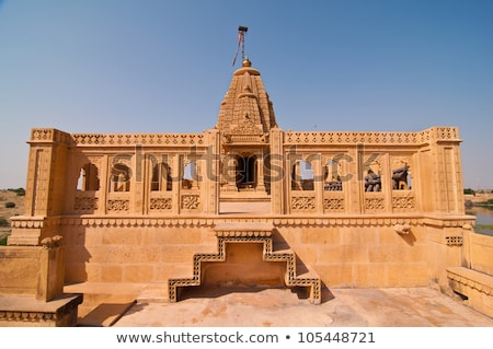old jain cenotaph in jaisalmer india Stock photo © Mikko