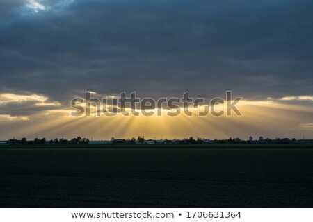Crepuscular Rays Stock photo © Undy