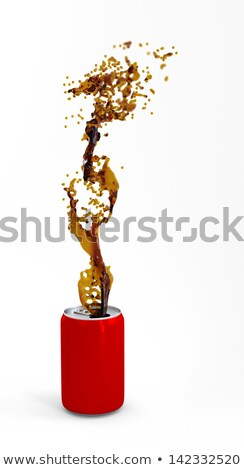 красный алюминий можете кокса изолированный Сток-фото © Kirill_M