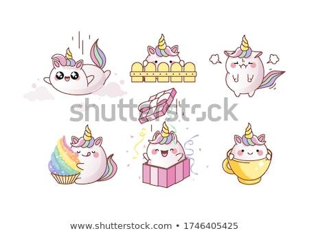 Cupcake heaven Stock photo © goodie76