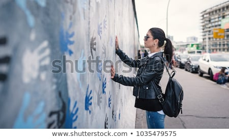 berlin wall memorial with graffiti stock photo © photocreo