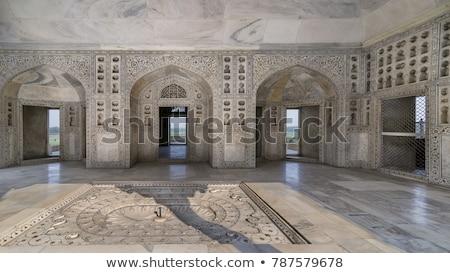 Ajtó erőd fenséges palota India lakás Stock fotó © faabi