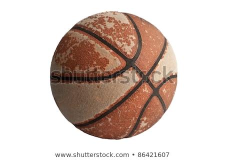 vuile · abstract · grunge · basketbal · verf · sport - stockfoto © burakowski