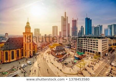 Church in Frankfurt ( Germany)  Stock photo © meinzahn
