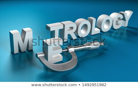 Dimensional Control - Micrometer Stock photo © olivier_le_moal