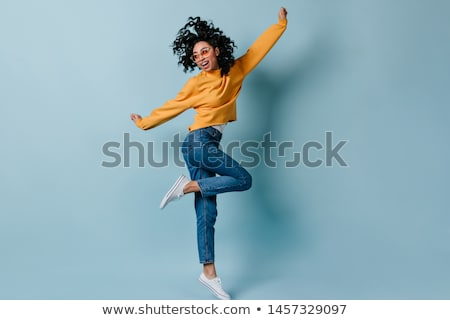 fascinating youth in jeans Stock photo © 26kot