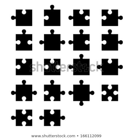 jigsaw pieces Stock photo © nelsonart