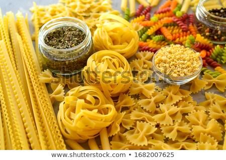 Pasta Selection Stock photo © marilyna