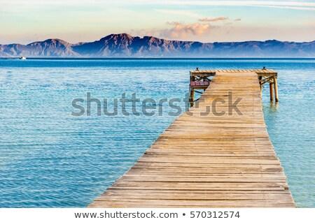 Foto stock: Praia · mallorca · Espanha · paisagem · mar