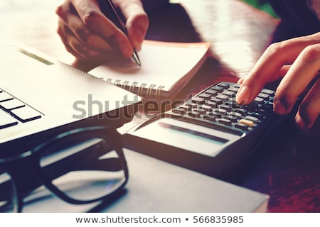 Loan on calculator Stock photo © fuzzbones0
