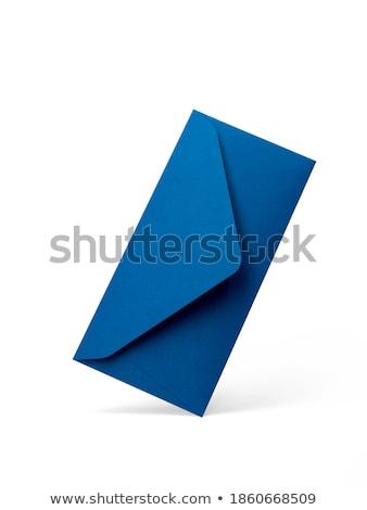 Envelope blue Stock photo © Alina12