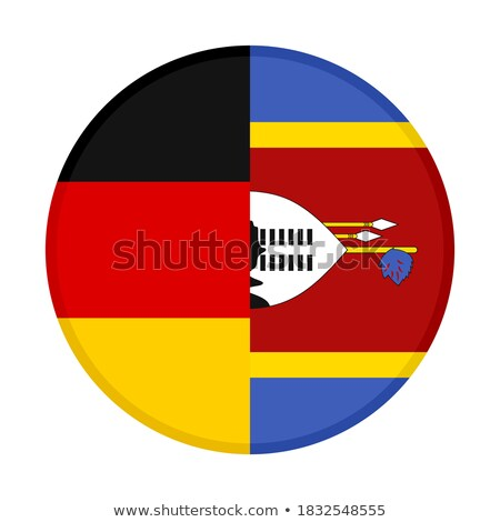 Germany and Swaziland Flags  Stock photo © Istanbul2009