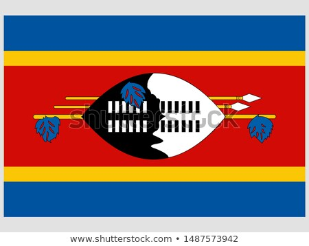 United Kingdom and Swaziland Flags Stock photo © Istanbul2009