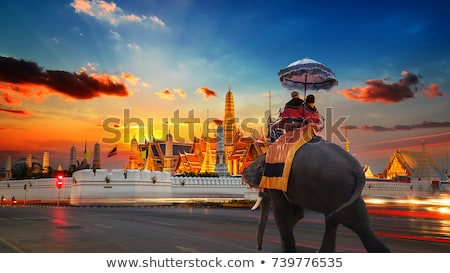 Thai temple Bangkok Thaïlande bâtiment art Photo stock © Mariusz_Prusaczyk