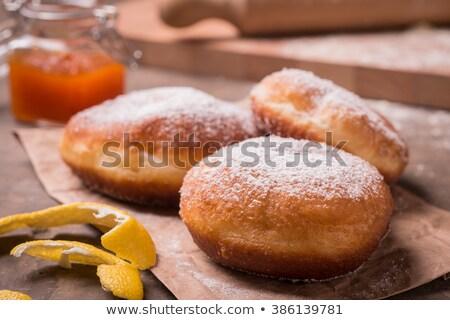 フライド 伝統的な 静物 食品 ケーキ デザート ストックフォト © crampinini
