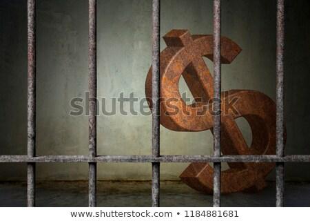 dollar prison Stock photo © drizzd