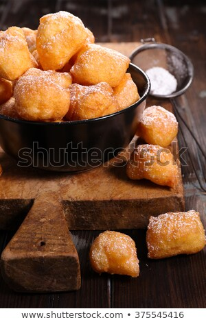 french pastry'pet de none' Stock photo © M-studio