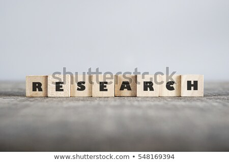 Research word Stock photo © fuzzbones0