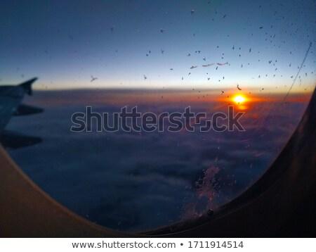 vliegtuig · vleugel · prachtig · foto · hemel - stockfoto © luissantos84