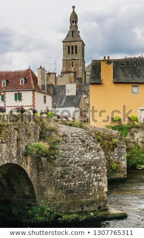 Pont-Croix in Brittany Stock photo © prill