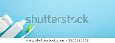 красочный стоматологических Баннеры зубов коллекция красивой Сток-фото © Tefi
