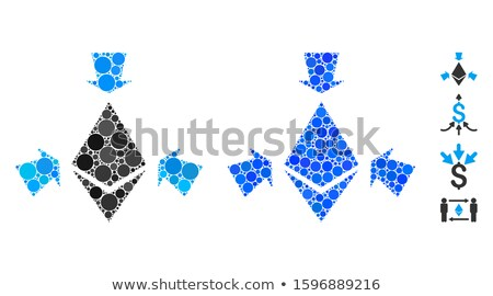 Ethereum Collect Arrows Flat Icon Stock photo © ahasoft