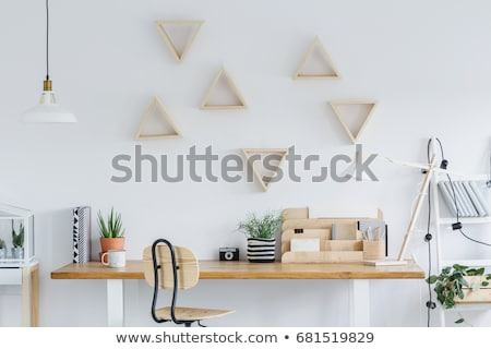 Desk organizer in creative office Stock photo © wavebreak_media