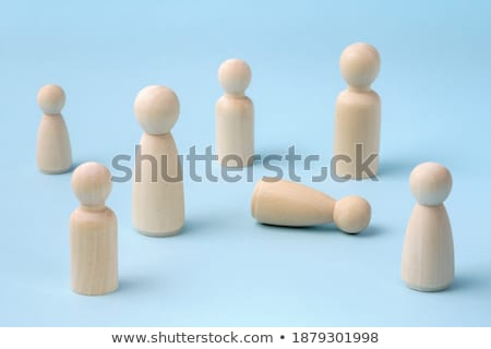 Estatueta piso branco brinquedo sucesso Foto stock © wavebreak_media